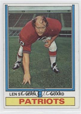 1974 Topps #103 - Len St. Jean