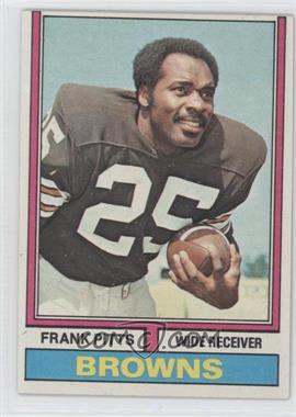 1974 Topps #11 - Frank Pitts