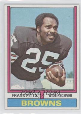 1974 Topps #11 - Frank Pitts