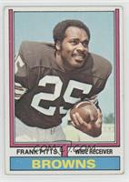 Frank Pitts [Good to VG‑EX]