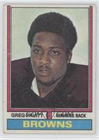 Greg Pruitt [Good to VG‑EX]