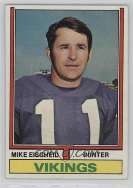 1974 Topps #163 - Mike Eischeid [GoodtoVG‑EX]