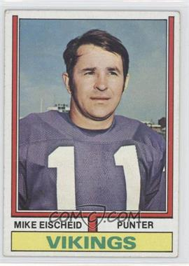 1974 Topps #163 - Mike Eischeid [Good to VG‑EX]
