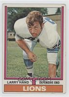 Larry Hand [Good to VG‑EX]