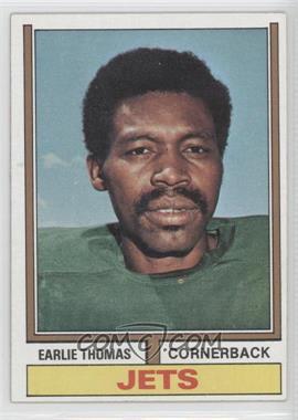 1974 Topps #201 - Earlie Thomas