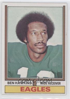 1974 Topps #21 - Ben Hawkins