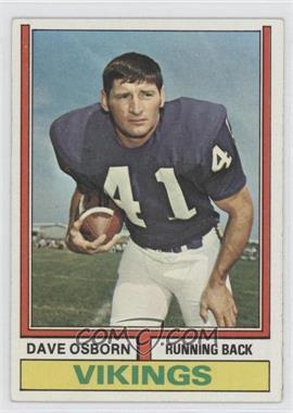 1974 Topps #293 - Dave Osborn