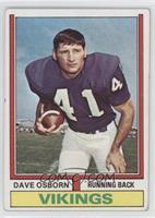 Dave Osborn [GoodtoVG‑EX]