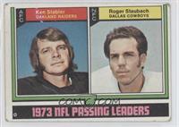 Roger Staubach, Ken Stabler [GoodtoVG‑EX]