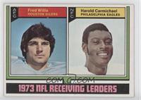 Fred Willis, Harold Carmichael