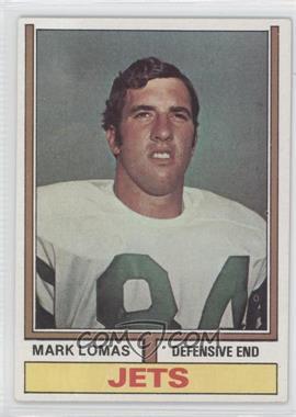 1974 Topps #455 - Mark Lomas