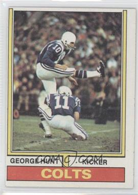 1974 Topps #482 - George Hunt