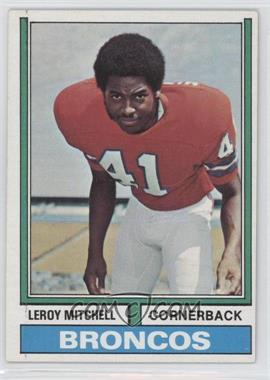 1974 Topps #519 - Leroy Mitchell