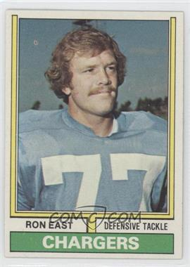 1974 Topps #72 - Ron East