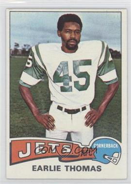 1975 Topps #149 - Earlie Thomas