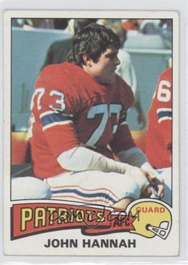 1975 Topps #318 - John Hannah