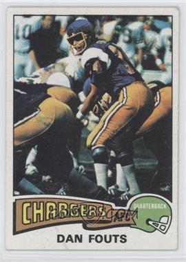 1975 Topps #367 - Dan Fouts