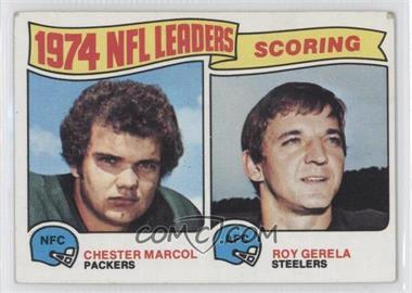 1975 Topps #4 - Chester Marcol, Roy Gerela [GoodtoVG‑EX]