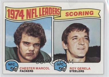 1975 Topps #4 - Chester Marcol, Roy Gerela