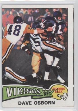 1975 Topps #410 - Dave Osborn