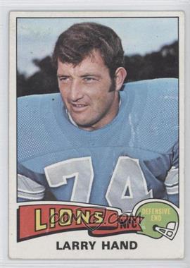 1975 Topps #42 - Larry Hand