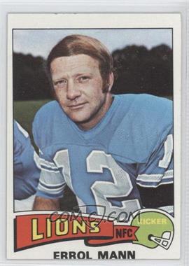 1975 Topps #421 - Errol Mann