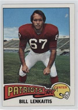1975 Topps #61 - Bill Lenkaitis