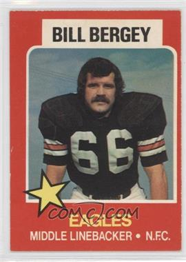 1975 Wonder Bread All-Star Series #19 - Bill Bergey