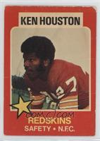 Ken Houston [Good to VG‑EX]