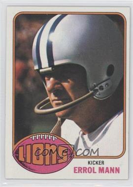 1976 Topps - [Base] #227 - Errol Mann