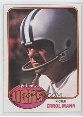 1976 Topps #227 - Errol Mann