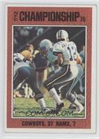 NFC Championship (Roger Staubach)