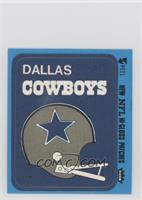 Dallas Cowboys (Helmet Blue Border)