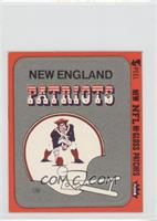 New England Patriots (Helmet Orange Border) [Good to VG‑EX]