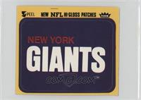 New York Giants (Logo) [Good to VG‑EX]