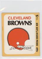 Cleveland Browns (Helmet) [Good to VG‑EX]