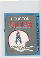 Houston Oilers (Helmet)