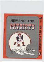New England Patriots (Helmet Orange Border)