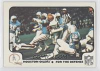 Houston Oilers Team [Good to VG‑EX]