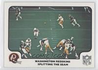 Washington Redskins Team (Splitting the Seam)