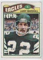 Larry Marshall [Poor to Fair]