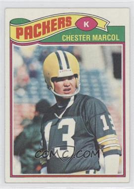 1977 Topps - [Base] #323 - Chester Marcol
