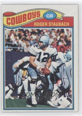 1977 Topps - [Base] #45 - Roger Staubach [Good to VG‑EX]
