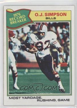 1977 Topps - [Base] #453 - O.J. Simpson