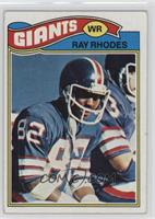 Ray Rhodes [GoodtoVG‑EX]