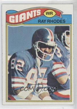 1977 Topps - [Base] #98 - Ray Rhodes