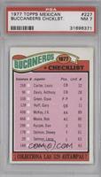 Tampa Bay Buccaneers Checklist [PSA7]