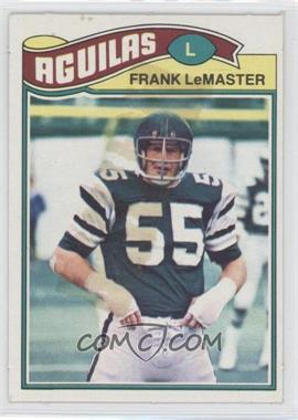 1977 Topps Mexican - [Base] #373 - Frank LeMaster
