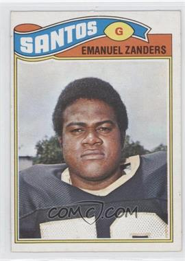 1977 Topps Mexican - [Base] #396 - Emanuel Zanders