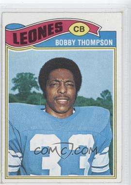 1977 Topps Mexican - [Base] #486 - Bobby Thompson